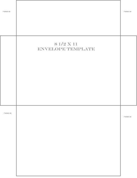 Envelopetemplate